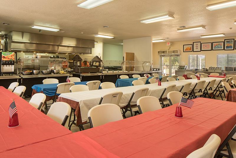 Cafeteria at Sedona Sky Academy